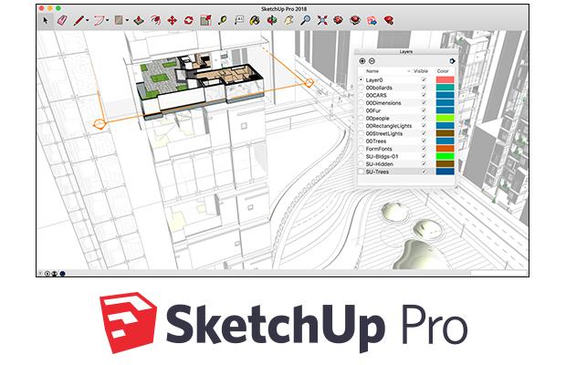 Jasa Instal Sketchup Pro