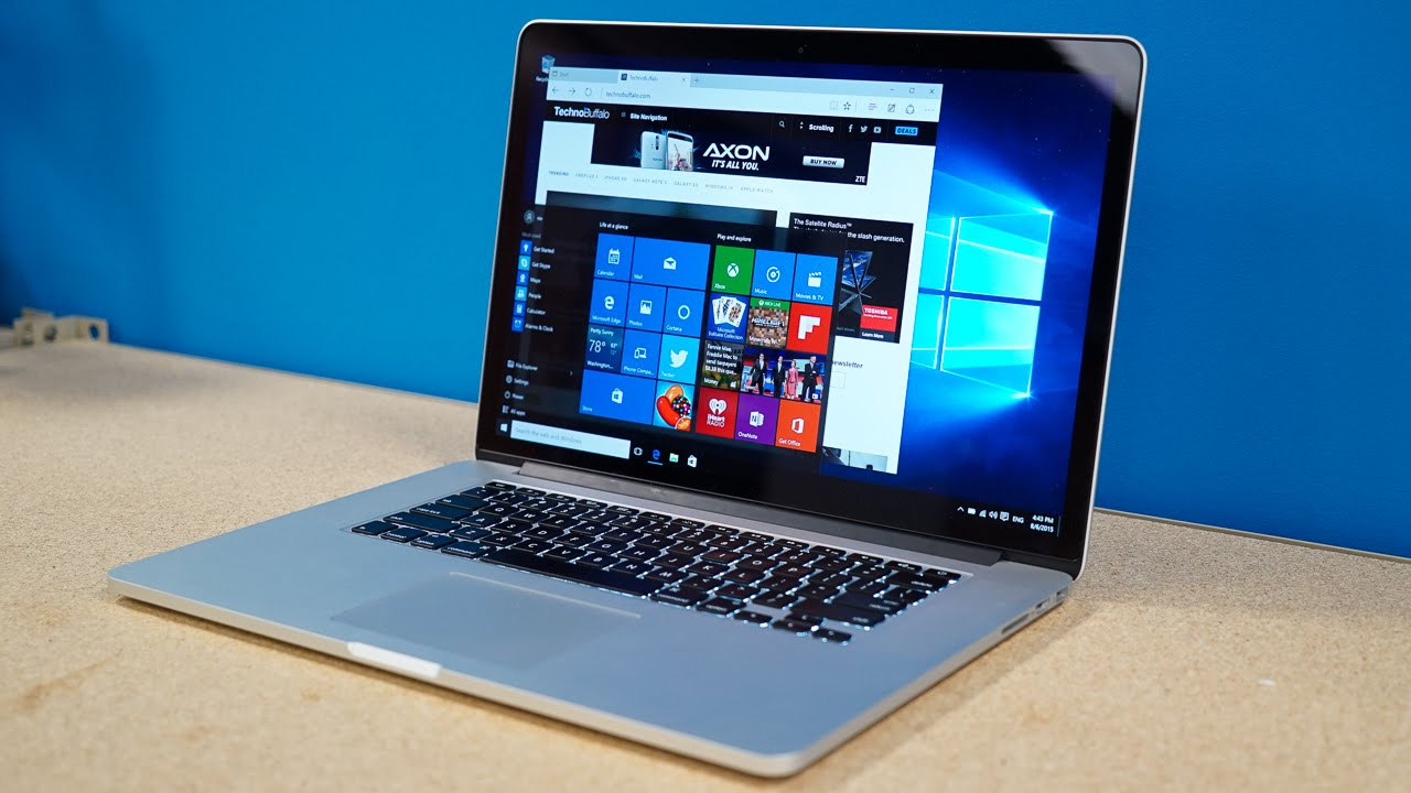 Instal Windows 10 di Macbook