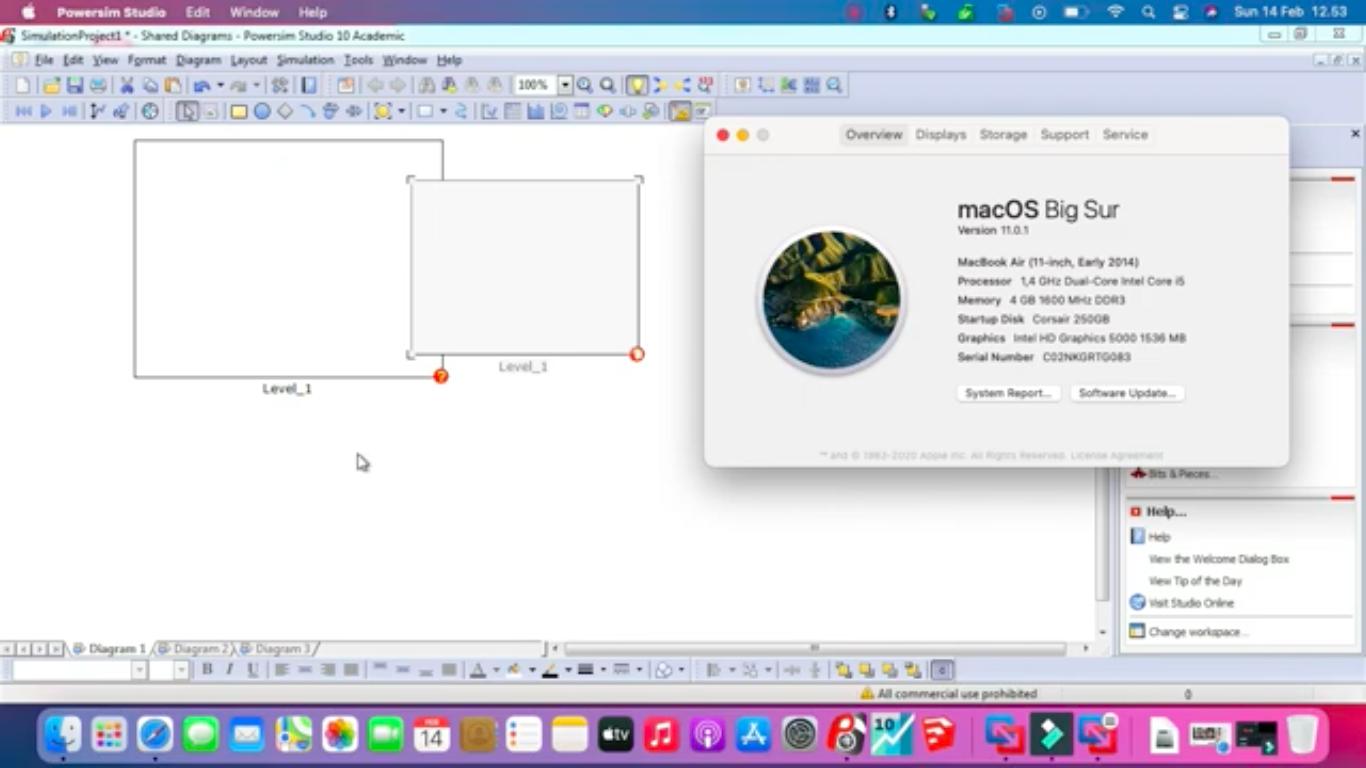 Jual Jasa Instal Powersim Studio 10 Academic di Mac Macbook Imac