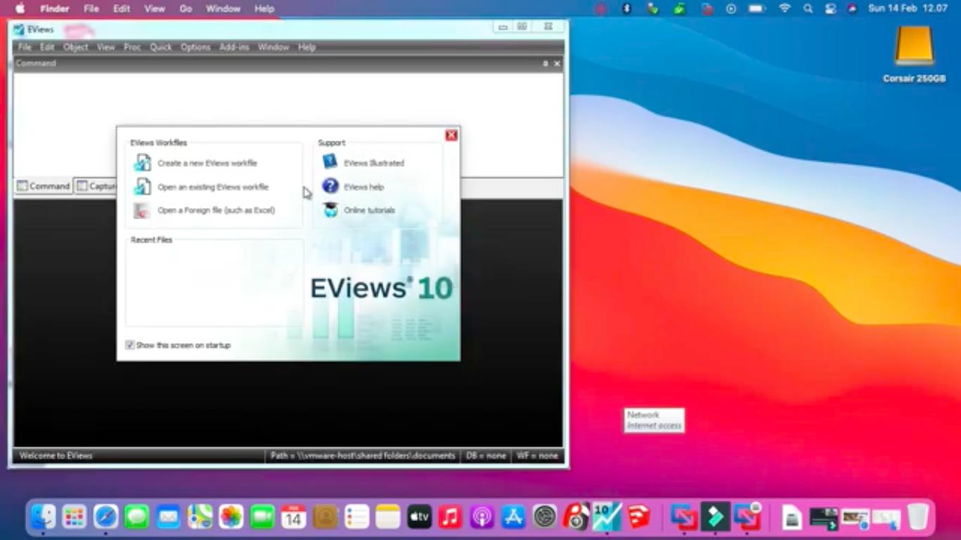 Jual Instal Eviews di Mac Macbook Imac